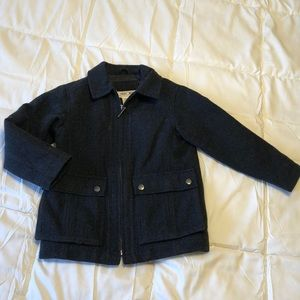 Wool blend children's coat